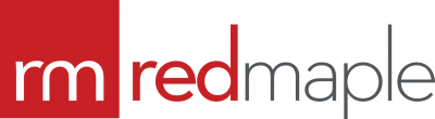 Red Maple IT Support Logo for Newcastle, Gateshead and Hexham
